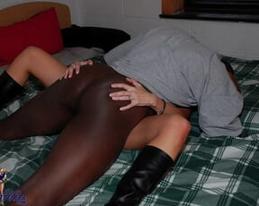 Slut day at college with BBC