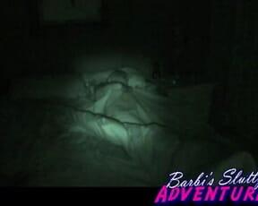Barbi sleeps thru her threesome